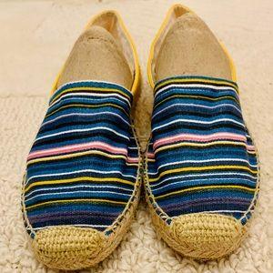NWOB Sam Edelman striped Verona espadrilles Size 8
